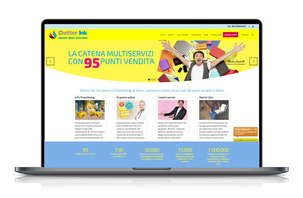 DottorInk sito internet